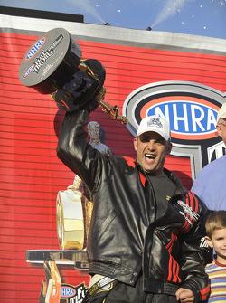 NHRA Top Fuel 2009 champion Tony Schumacher