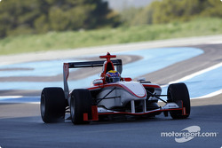 Mark Webber test drives the new GP3 Series car