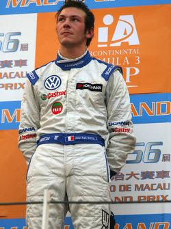 Podium: second place Jean-Karl Vernay, Signature