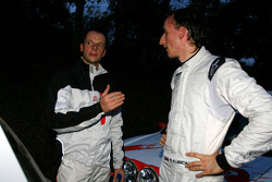 Robert Kubica and Michal Kusnierz, Renault Clio R3 with Freddy Loix and Frédéric Miclotte, Renault Clio R3 Maxi
