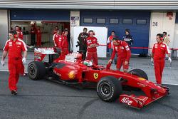 Pablo Sanchez Lopez, test ediyorfor Scuderia Ferrari