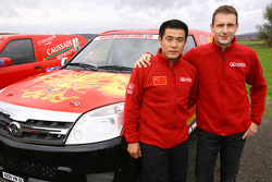 driver Yong Zhou and co-driver Sylvain Poncet