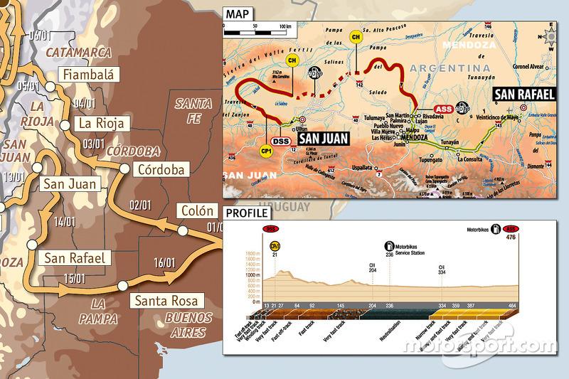 Stage 12: 2010-01-14, San Juan - San Rafael