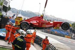 Escena posterior a la carrera