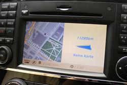 GPS en el auto de prensa #940 Mercedes-Benz Clase-R