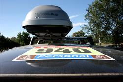 El auto de prensa #940 Mercedes-Benz Clase-R