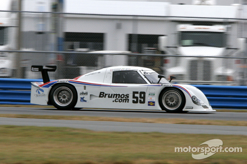 #59 Brumos Racing Porsche Riley: David Donohue, Hurley Haywood, Darren Law, Butch Leitzinger, Raphae