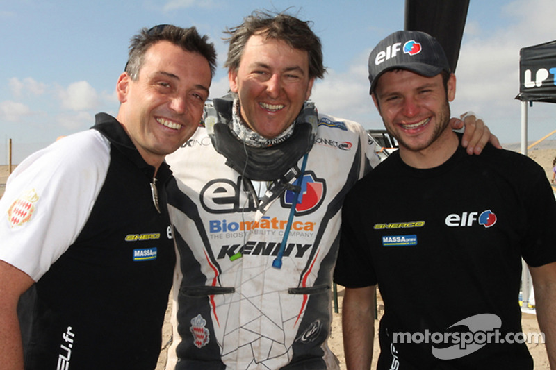 Michael Pisano, Ludovic Boinnard et David Casteu