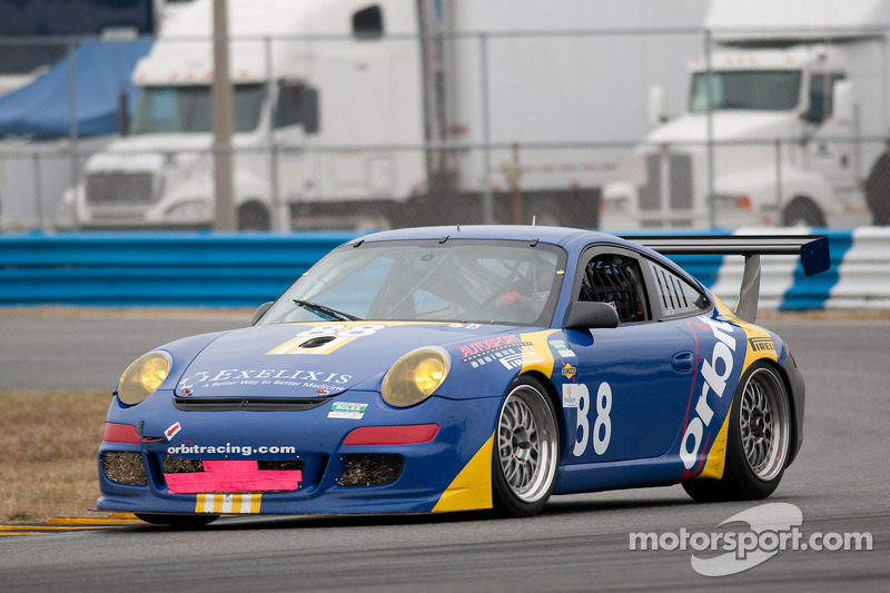 #88 Orbit Racing Porsche GT3: G John Baker, Guy Cosmo, Johnny Mowlem, Lance Willsey