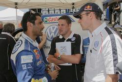 Nasser Al Attiyah, Tobias Mederer and Andreas Lautner