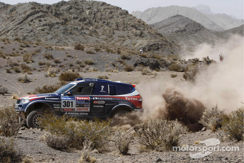 #301 BMW: Stéphane Peterhansel et Jean-Paul Cottret