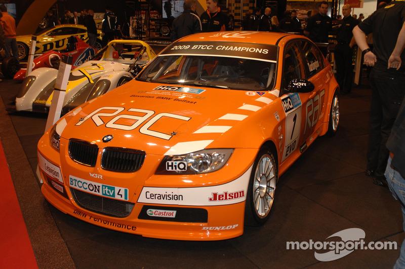 Colin Turkingtons 2009 BTCC winnende Team RAC BMW