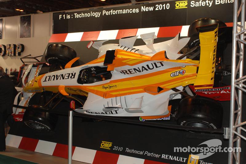 Renault F1 op de OMP stand