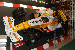 Renault F1 on the OMP stand