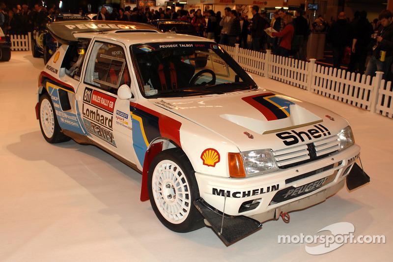 Peugeot 206 Rallye Car
