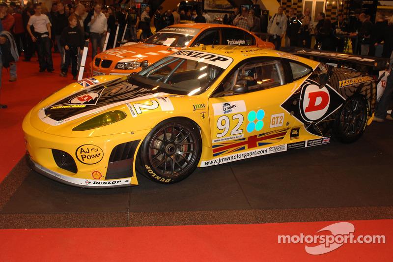 Ferrari F430 GT2 sponsorisée par Dunlop