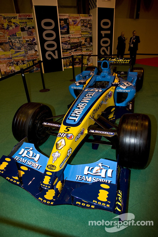 La F1 2005 victorieuse de Fernando Alonso
