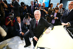 VW Boss Martin Winterkorn during the Volkswagen Press Conference