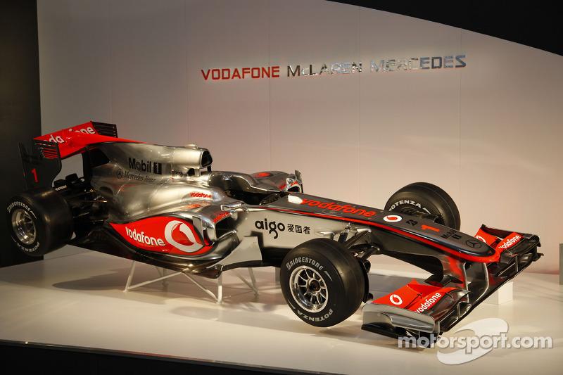 La nouvelle McLaren Mercedes MP4-25