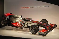The new McLaren Mercedes MP4-25