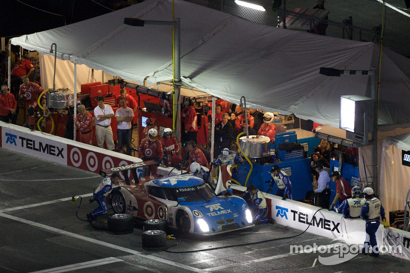 Pitstop #01 Chip Ganassi Racing with Felix Sabates BMW Riley: Max Papis, Scott Pruett, Memo Rojas, Justin Wilson