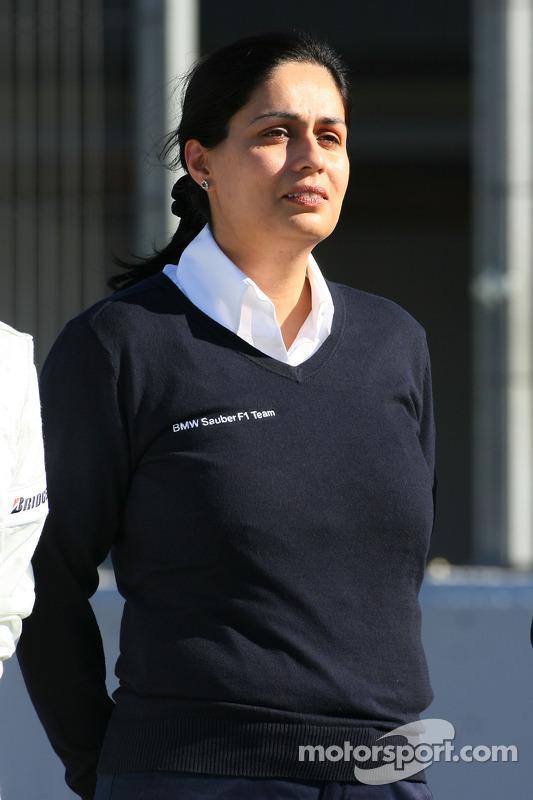 Monisha Kaltenborn, Directrice du Management BMW sauber F1 Team