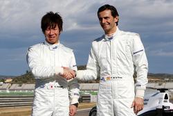 Kamui Kobayashi, Sauber F1 Team; Pedro de la Rosa, Sauber F1 Team