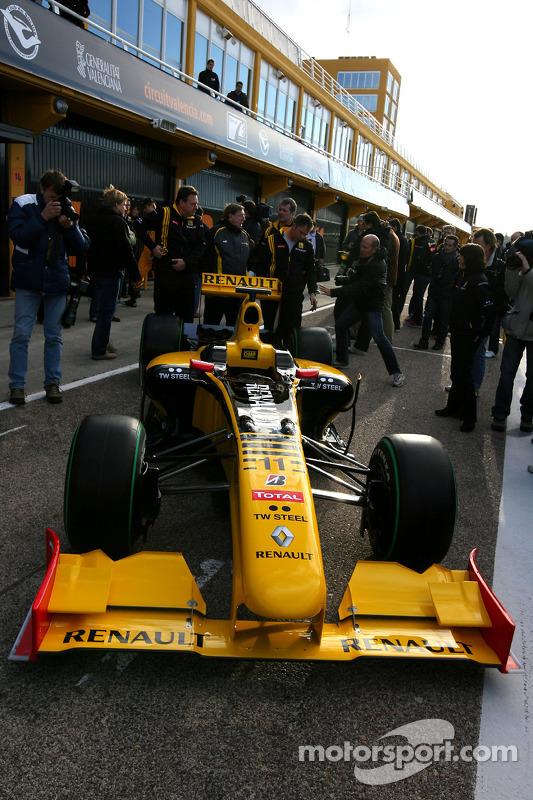 La nouvelle Renault R30