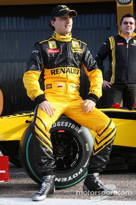 Robert Kubica, Renault F1 Team- Renault F1
