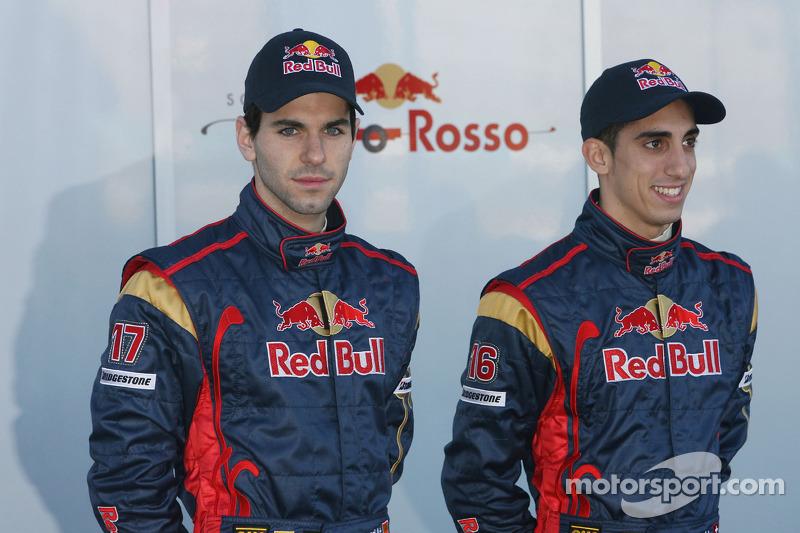 Algersuari ve Buemi, 2009 ve 2011 yılları araısnda iki buçuk yıl boyunca Toro Rosso'da yarıştılar.