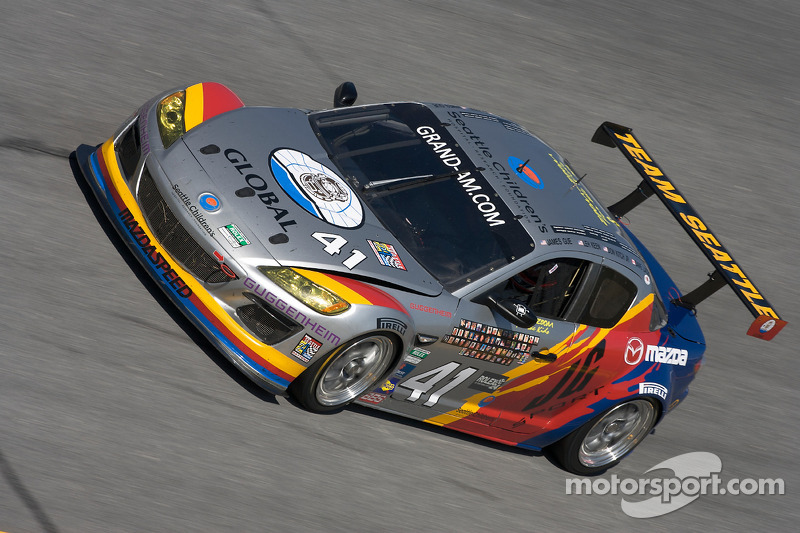 #41 Dempsey Racing/Team Seattle Mazda RX-8: James Gue, Leh Keen, Don Kitch Jr.