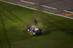 Kurt Busch, Penske Racing Dodge spins off the track