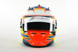 El casco de Paul Di Resta, tercer piloto de Force India F1
