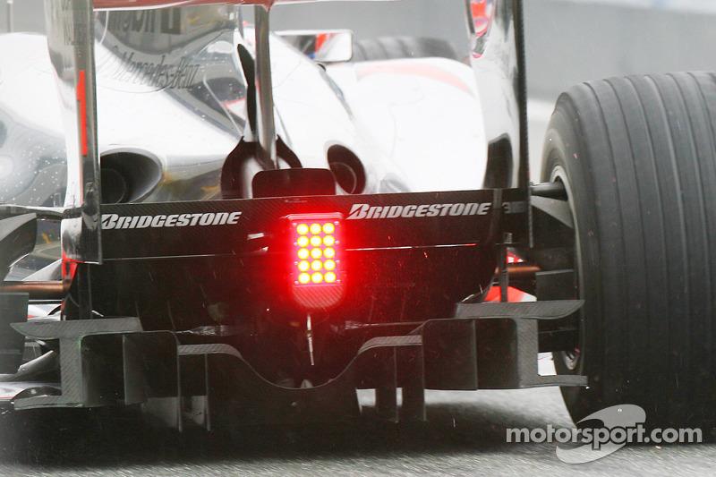 Diffuseur arrière McLaren