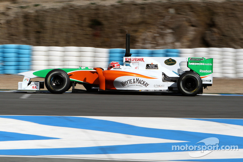 2010: Vitantonio Liuzzi, Force India VJM-03