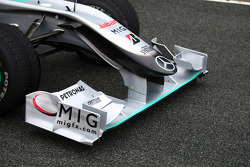 Mercedes GP Petronas front wing