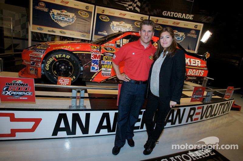 Ontbijten met de kampioen: 2010 Daytona 500 winnaar Jamie McMurray en zijn vrouw Christy