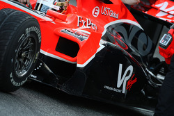 Timo Glock, Virgin Racing VR-01, detail