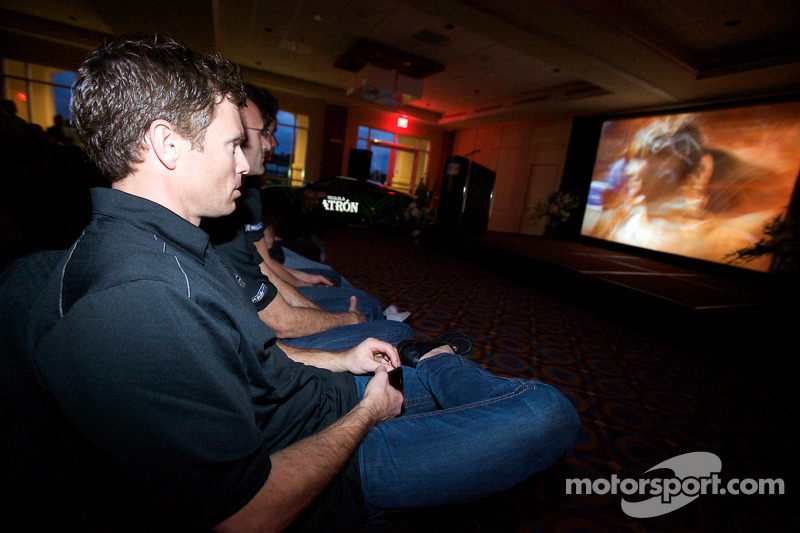Tequila Patron, sponsor van de American Le Mans Series: Scott Sharp