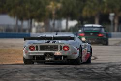 #40 Robertson Racing Doran Design Ford GT: David Robertson, Andrea Robertson, David Murry