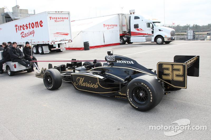 Auto van James Rossiter, KV Racing Technology