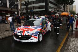 Kris Meeke and Paul Nagle, Peugeot UK Peugeot 207 S2000