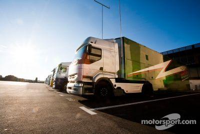 Test au Circuit Paul Ricard en mars