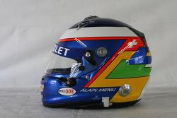 Alain Menu, Chevrolet, Chevrolet Cruze LT helmet