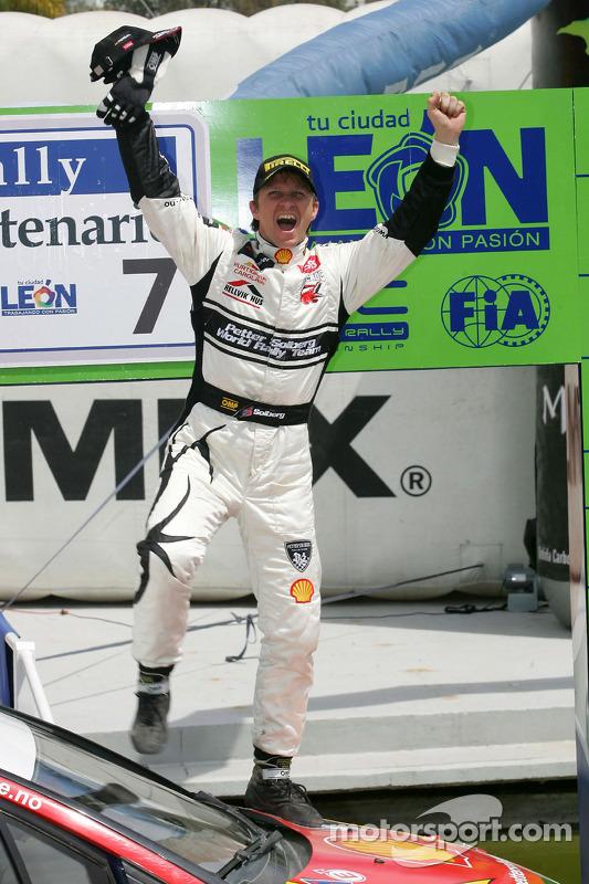 Podium: 2de Petter Solberg