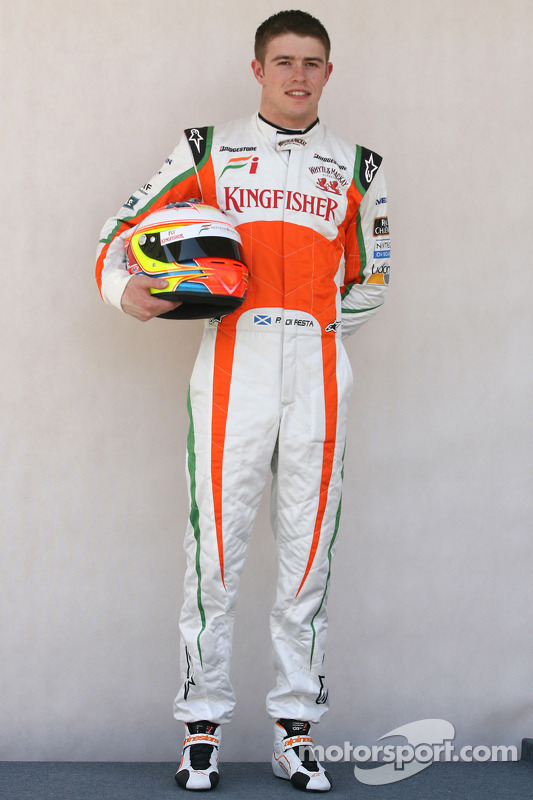 Paul di Resta, testrijder, Force India F1 Team