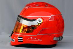 Helmet of Michael Schumacher, Mercedes GP
