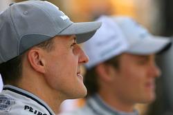 Michael Schumacher, Mercedes GP and Nico Rosberg, Mercedes GP