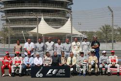 Alle F1 wereldkampioenen in een foto