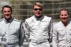 Nigel Mansell, 1992 F1 World Champion, Mika Hakkinen, 1998, 1999 F1 World Champion, Jacques Villeneuve, 1997 F1 World Champion